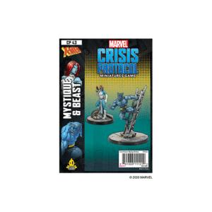 Marvel Crisis Protocol Mystique & Beast Image