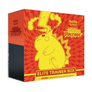 Pokemon TCG Sword & Shield Vivid Voltage Elite Trainer Box Image