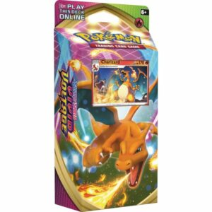 Pokemon TCG Sword & Shield Vivid Voltage Theme Deck - Charizard Image